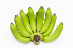 Banane crude immagini stock