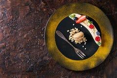 Banane de dessert d'électrodéposition Image stock