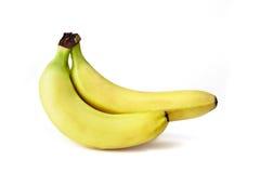 banane deux Photos stock