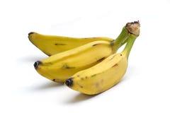 Banane dolci del plantano Fotografie Stock