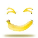 Banane emotional Lizenzfreie Stockbilder