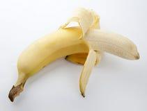 Banane enlevée photo stock