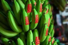 Banane et symbole de bonheur Images libres de droits