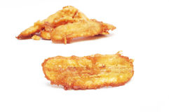 Banane frite Images stock