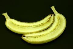 Banane geschnitten Stockfotografie