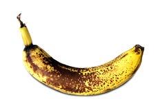 Banane getrennt auf einem weißen Hintergrund. Stockfoto