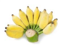 Banane getrennt auf Weiß Lizenzfreie Stockfotos
