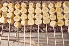 Banane grillte Lizenzfreie Stockfotografie