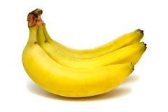 Banane isolate Immagini Stock Libere da Diritti