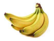 Banane isolate su bianco Immagine Stock