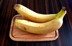 Banane jaune mûre Photos stock