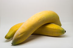 Banane jumelle Photographie stock