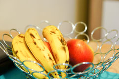 Banane mature Immagini Stock