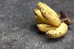 Banane mature fotografia stock