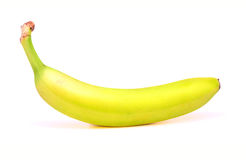Banane mature su fondo bianco Immagine Stock Libera da Diritti