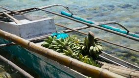 Banane nella barca archivi video