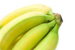 Banane non mature Fotografia Stock