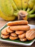 Banane seccate al sole Fotografie Stock