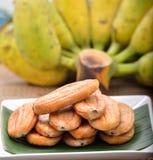 Banane seccate al sole Fotografia Stock