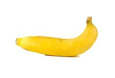 Banane sur le blanc Image libre de droits