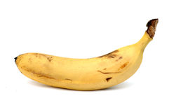 Banane trop mûre Photo libre de droits