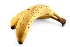 Banane trop mûre Photos libres de droits