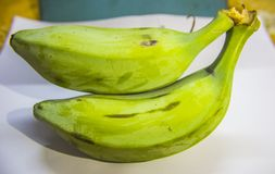 Banane végétale indienne image stock
