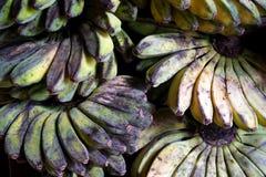 Bananen in den traditionellen Märkten Stockfoto