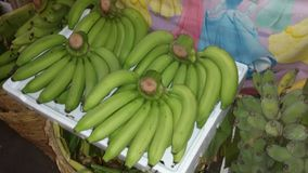 Bananen@ Großhandelsmarkt Stockfotos