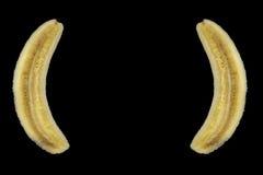 bananen klammer Fotografering för Bildbyråer