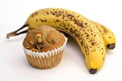 Bananen-Muffins Lizenzfreies Stockbild