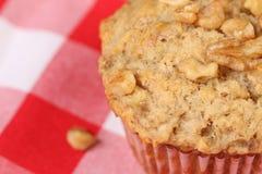 Bananen-Mutteren-Muffin Stockbilder