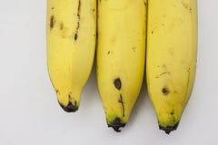 Bananen naast elkaar Royalty-vrije Stock Afbeeldingen