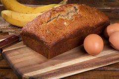 Bananen-Nuss-Bonbon-Brot Stockfoto