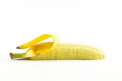 Bananen op witte achtergrond Stock Foto