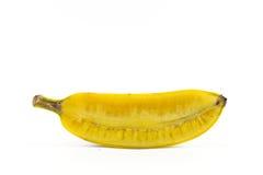 Bananen op witte achtergrond Stock Afbeelding