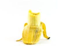 Bananen op witte achtergrond Royalty-vrije Stock Afbeeldingen