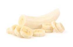 Bananen-Scheiben Lizenzfreie Stockbilder