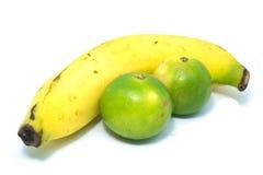 Bananen und Zitronen Stockbild