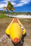 Bananenboot stockbilder
