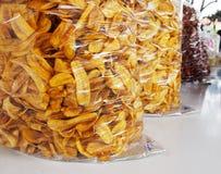 Bananenchips Stockbild