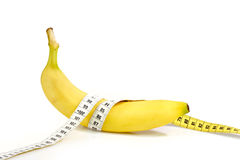 Bananendiät Stockbilder