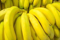 Bananenhintergrund Lizenzfreies Stockbild