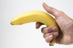 Bananenkrieg? stockfotos