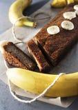 Bananenkuchen Stockbilder