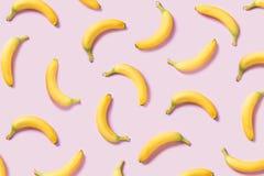 Bananenmuster stockbilder