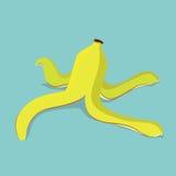 Bananenschale, Vektorillustration Lizenzfreie Stockbilder