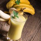 Bananenshake Royalty Free Stock Photos