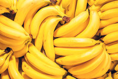 Bananentrauben Lizenzfreies Stockbild