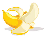 Bananenvektorabbildung lizenzfreie abbildung